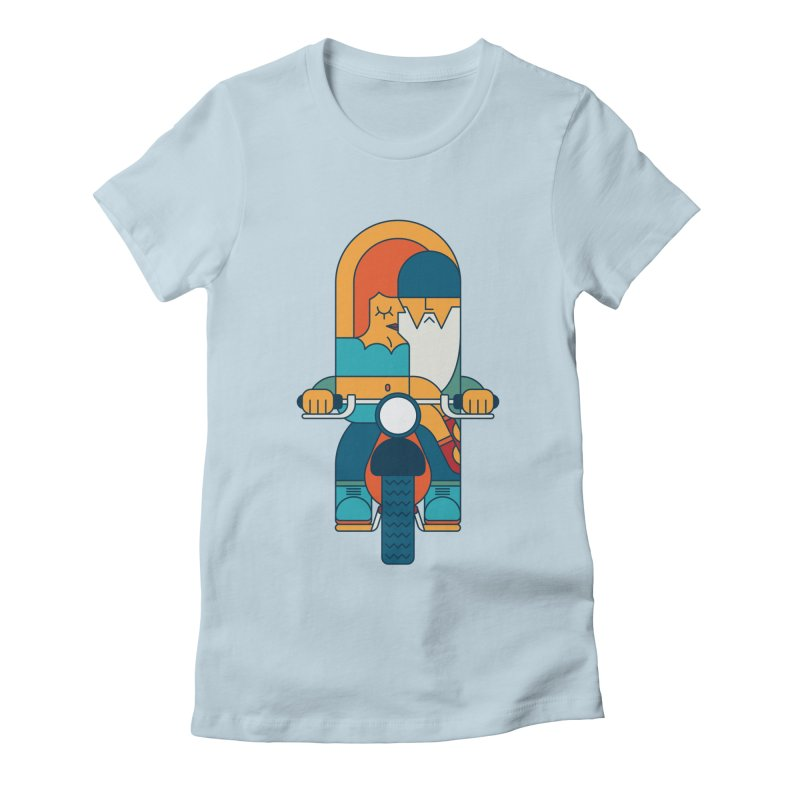 SleezyRider Women's Fitted T-Shirt by Emporio de Mutanthands