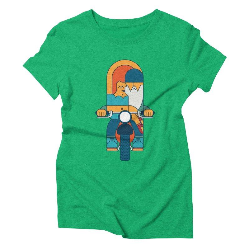 SleezyRider Women's Triblend T-Shirt by Emporio de Mutanthands