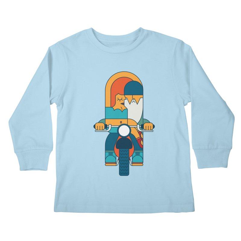 SleezyRider Kids Longsleeve T-Shirt by Emporio de Mutanthands