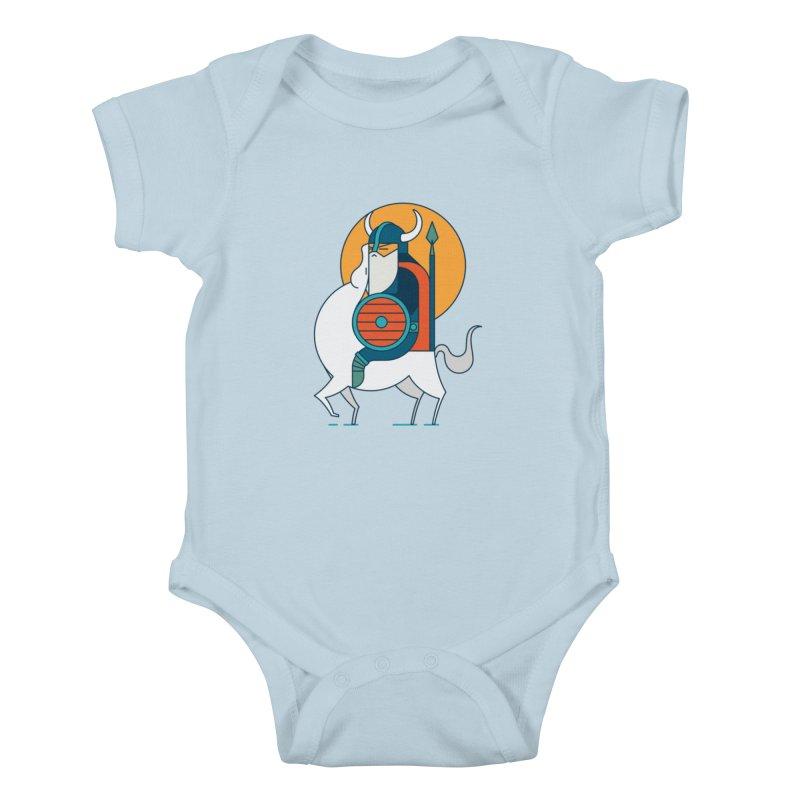 Viking Kids Baby Bodysuit by Emporio de Mutanthands