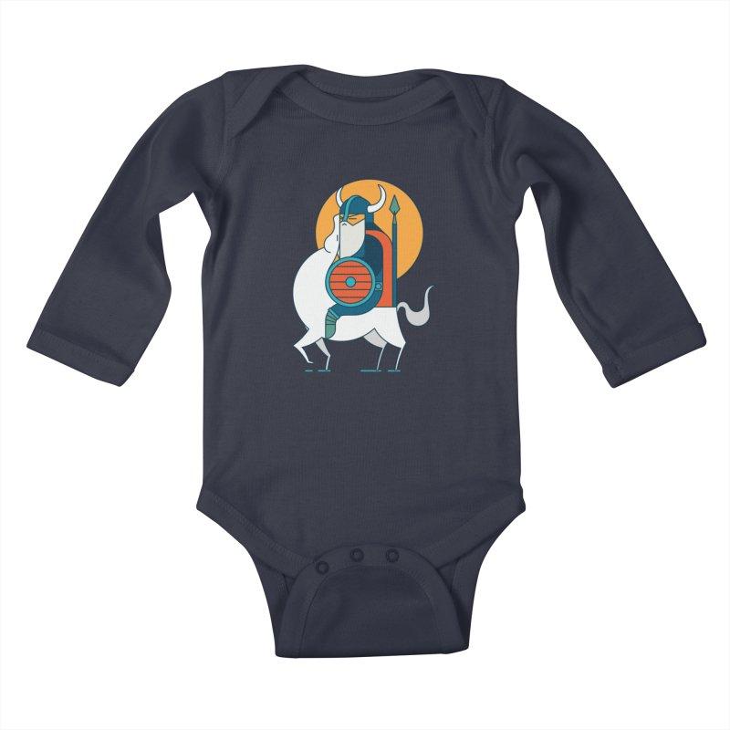 Viking Kids Baby Longsleeve Bodysuit by Emporio de Mutanthands