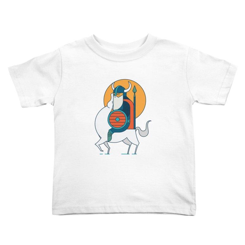 Viking Kids Toddler T-Shirt by Emporio de Mutanthands