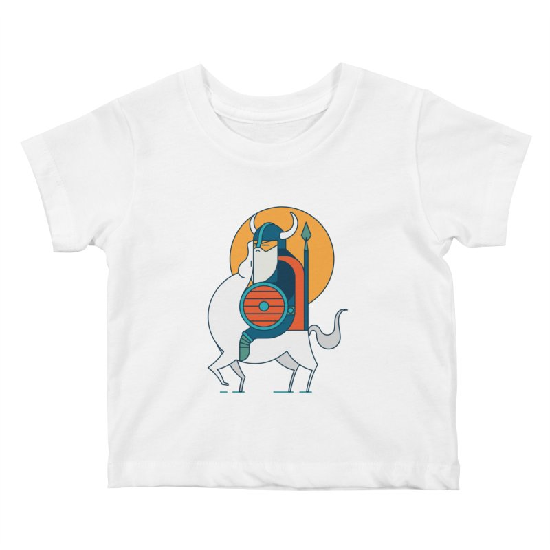 Viking Kids Baby T-Shirt by Emporio de Mutanthands