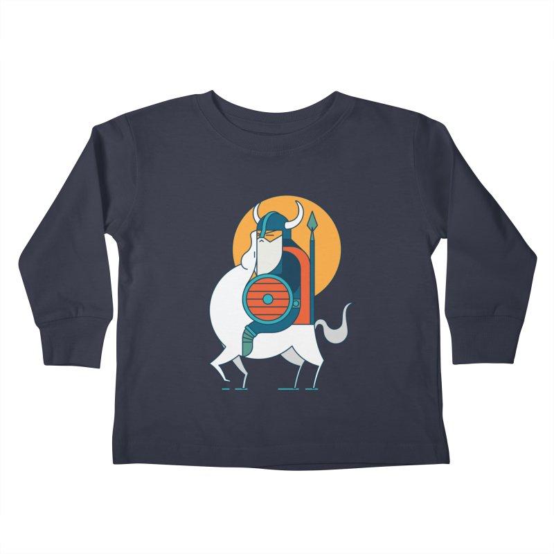 Viking Kids Toddler Longsleeve T-Shirt by Emporio de Mutanthands
