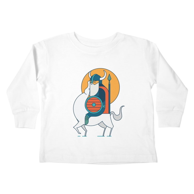 Viking Kids Toddler Longsleeve T-Shirt by Emporio de Mutanthands