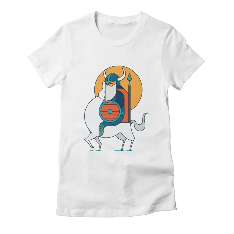 Viking Women's Fitted T-Shirt by Emporio de Mutanthands