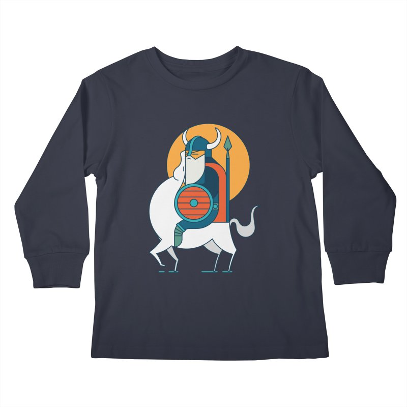 Viking Kids Longsleeve T-Shirt by Emporio de Mutanthands