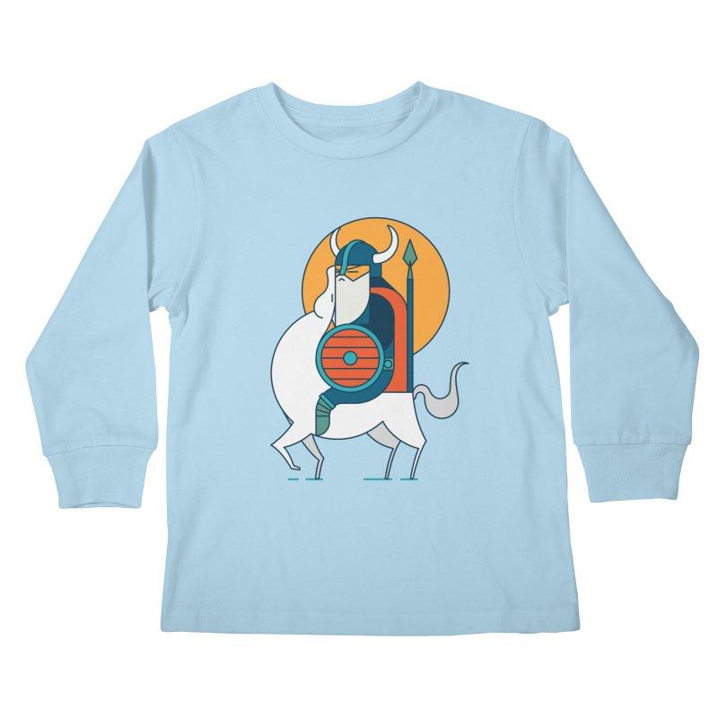 Viking Kids Longsleeve T-Shirt by Emporio de Mutanthands