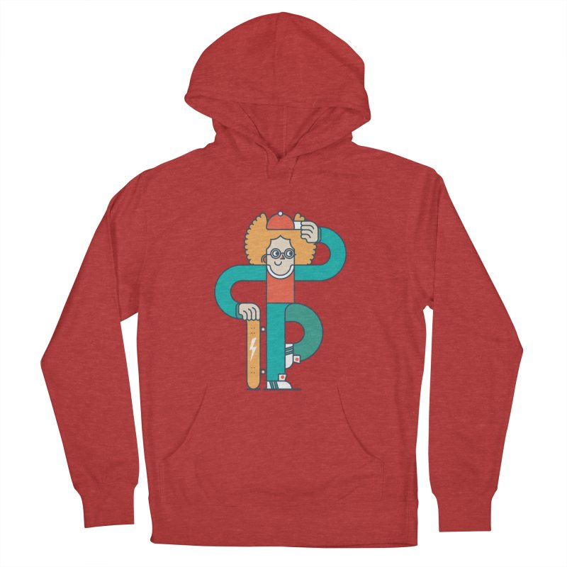 Skaterboy Women's French Terry Pullover Hoody by Emporio de Mutanthands