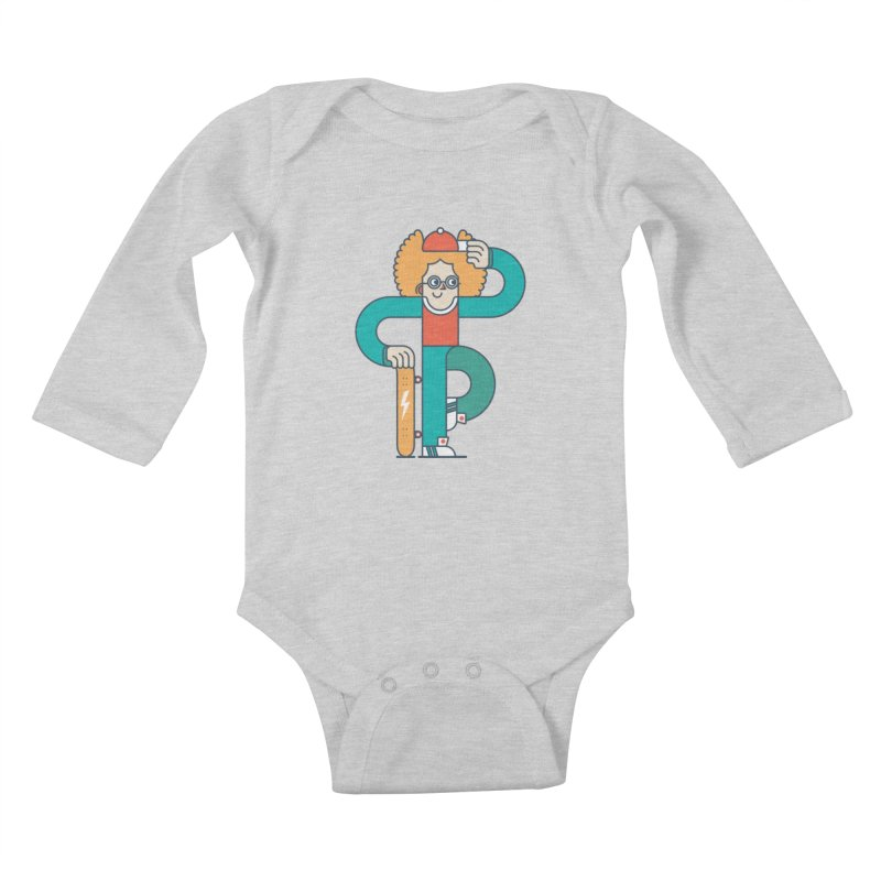 Skaterboy Kids Baby Longsleeve Bodysuit by Emporio de Mutanthands