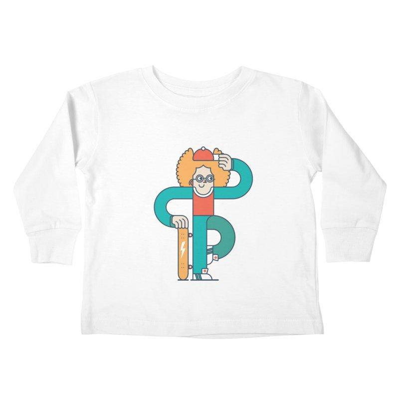 Skaterboy Kids Toddler Longsleeve T-Shirt by Emporio de Mutanthands