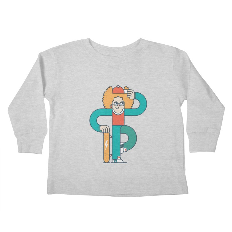 Skaterboy Kids Toddler Longsleeve T-Shirt by Emporio de Mutanthands