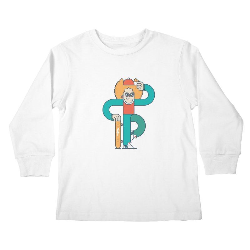 Skaterboy Kids Longsleeve T-Shirt by Emporio de Mutanthands