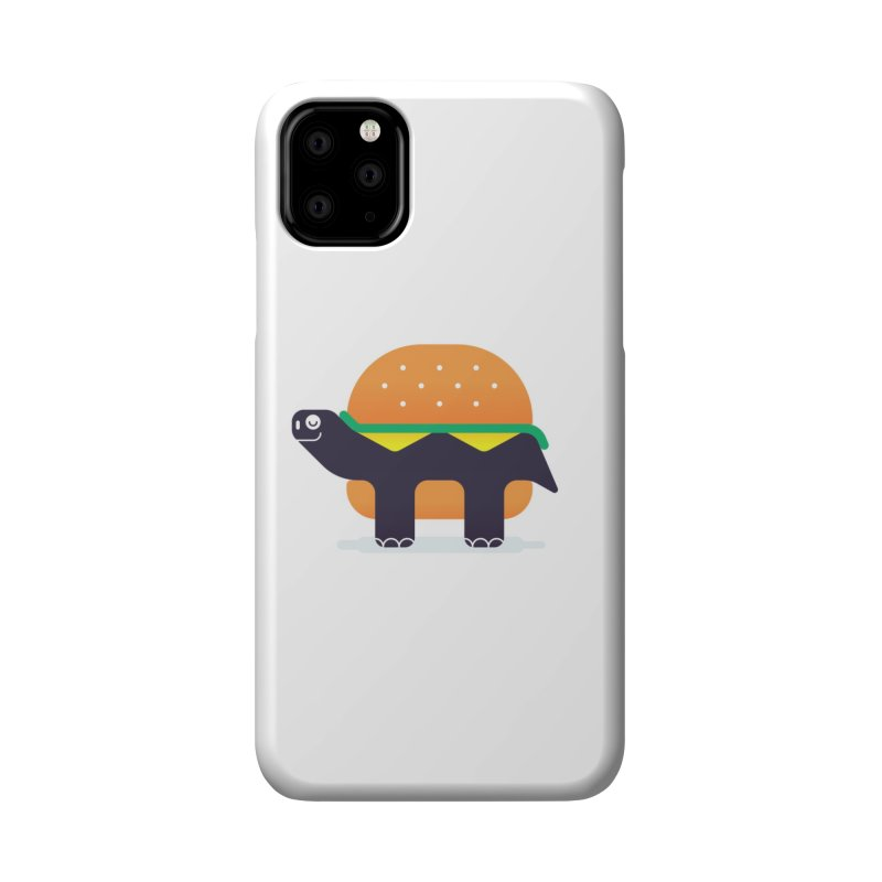 Turtle Burger Accessories Phone Case by Emporio de Mutanthands