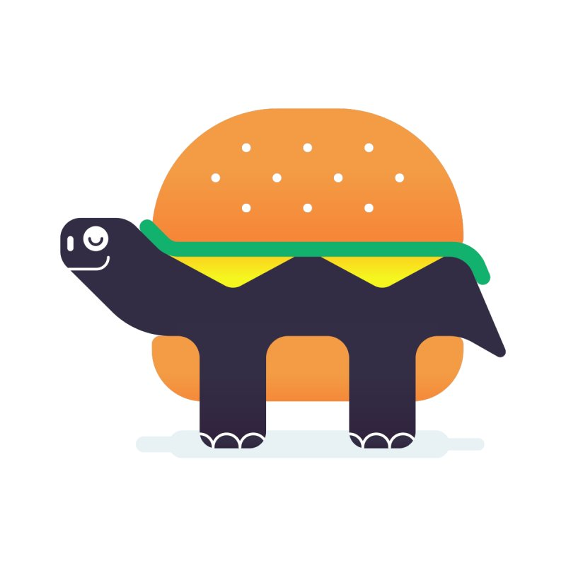Turtle Burger by Emporio de Mutanthands