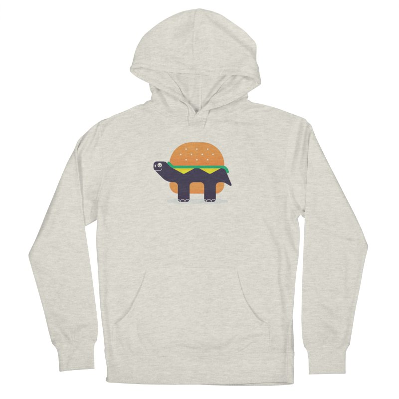 Turtle Burger Women's French Terry Pullover Hoody by Emporio de Mutanthands