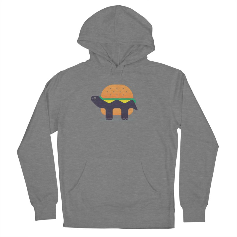 Turtle Burger Men's French Terry Pullover Hoody by Emporio de Mutanthands