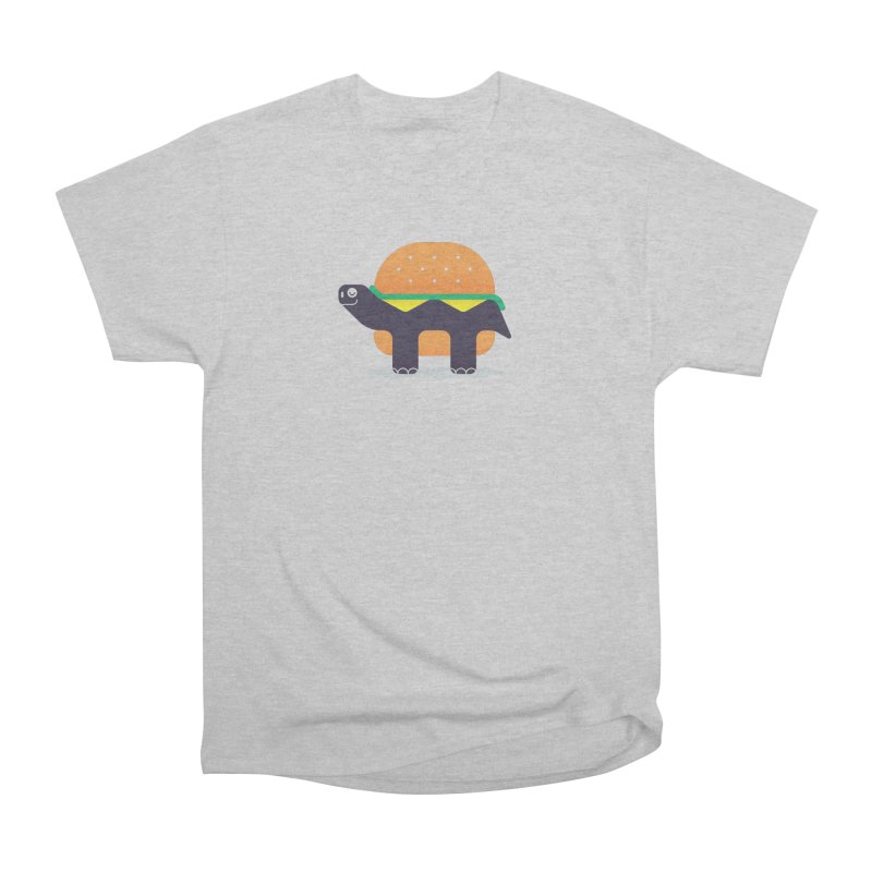 Turtle Burger Women's Heavyweight Unisex T-Shirt by Emporio de Mutanthands
