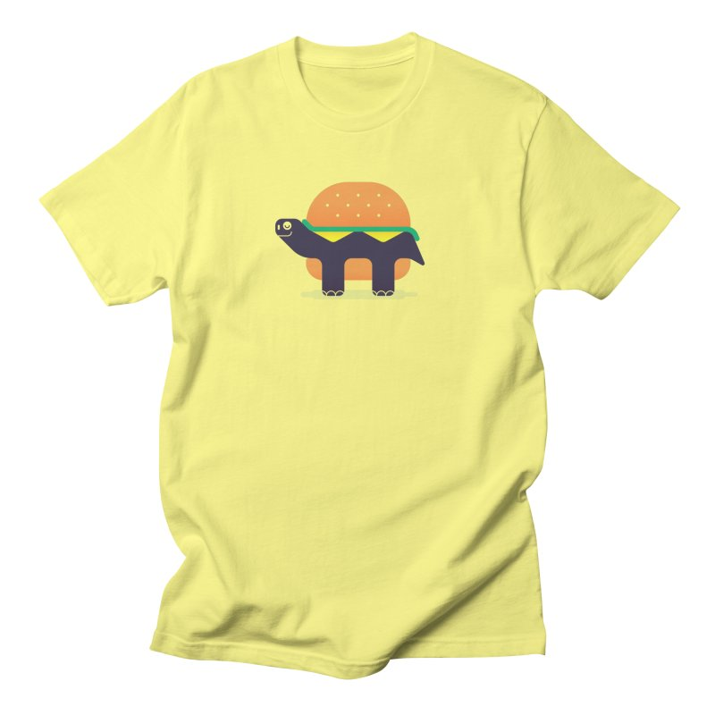 Turtle Burger Men's T-Shirt by Emporio de Mutanthands