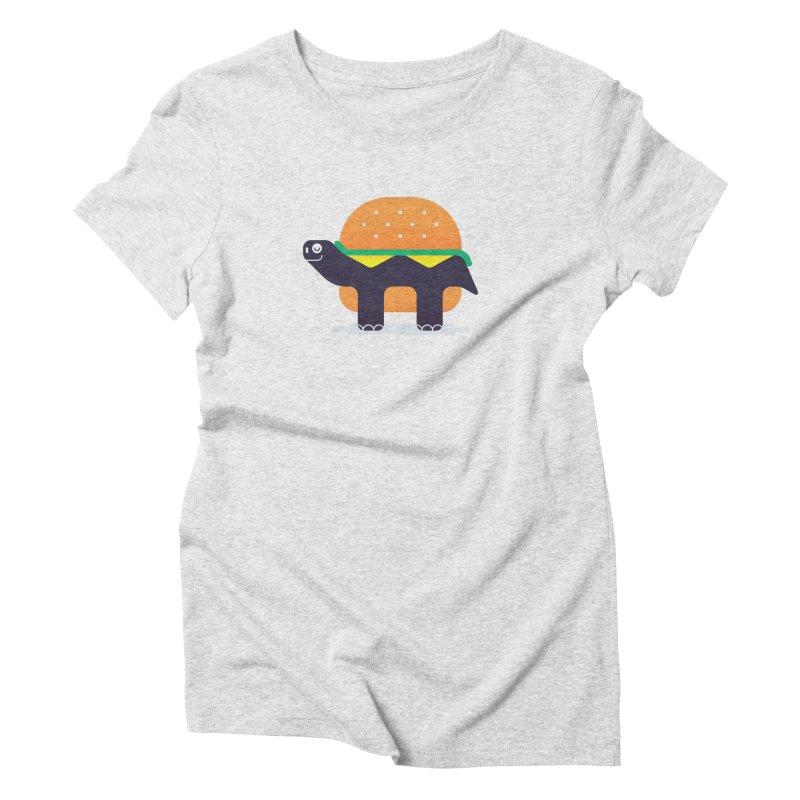 Turtle Burger Women's T-Shirt by Emporio de Mutanthands