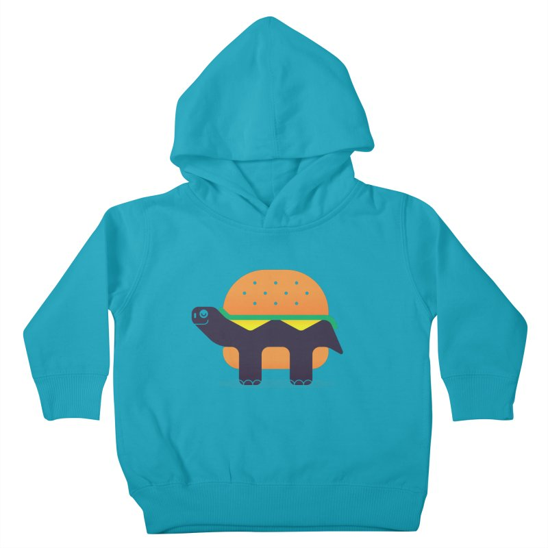 Turtle Burger Kids Toddler Pullover Hoody by Emporio de Mutanthands