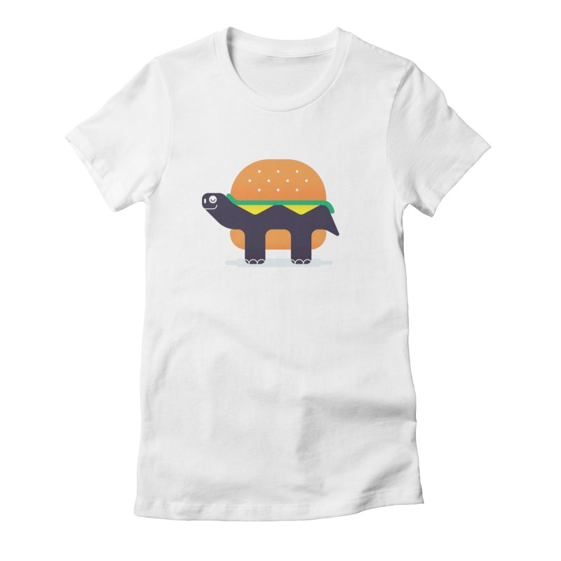 Turtle Burger Women's T-Shirt by Emporio de Mutanthands