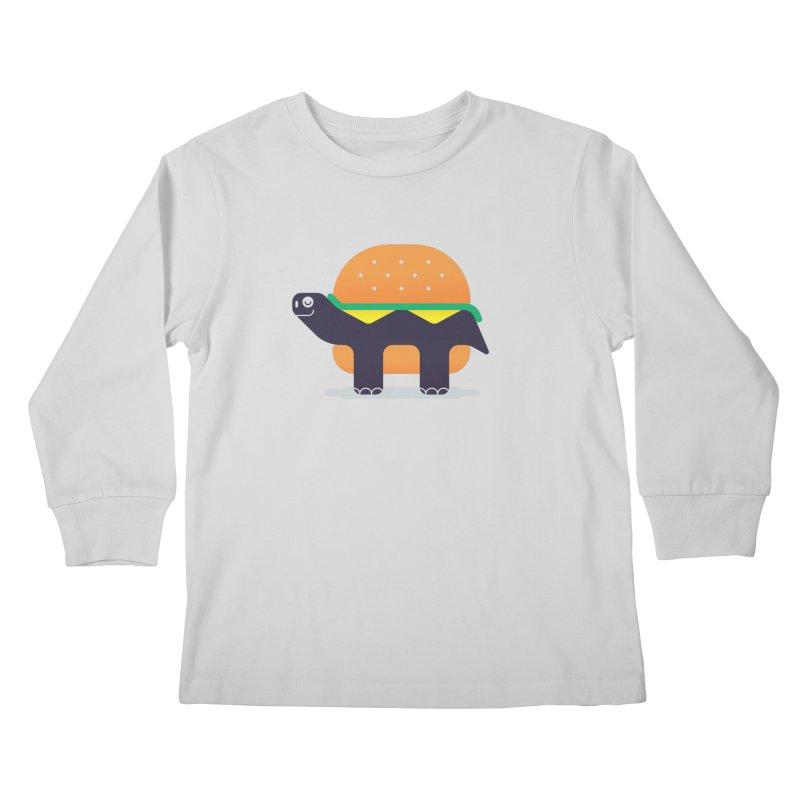 Turtle Burger Kids Longsleeve T-Shirt by Emporio de Mutanthands