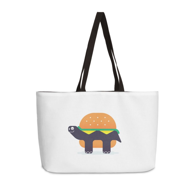 Turtle Burger Accessories Weekender Bag Bag by Emporio de Mutanthands