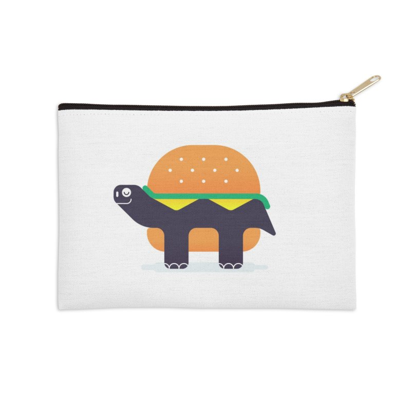 Turtle Burger Accessories Zip Pouch by Emporio de Mutanthands