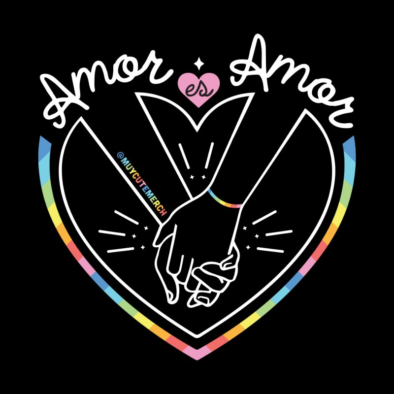 Amor Es Amor Men's T-Shirt by Muy Cute Camisa Shop