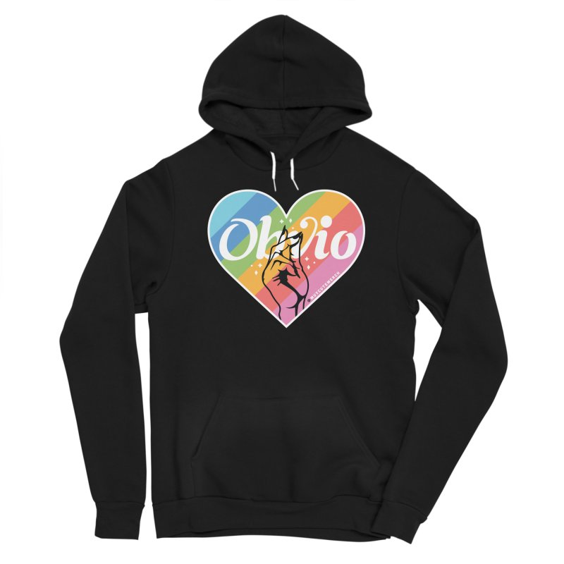 Obvio Pride Men's Pullover Hoody by Muy Cute Camisa Shop