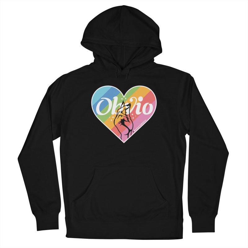 Obvio Pride Women's French Terry Pullover Hoody by Muy Cute Shop