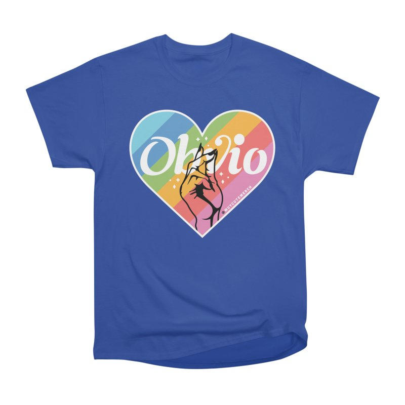 Obvio Pride Men's Heavyweight T-Shirt by Muy Cute Shop