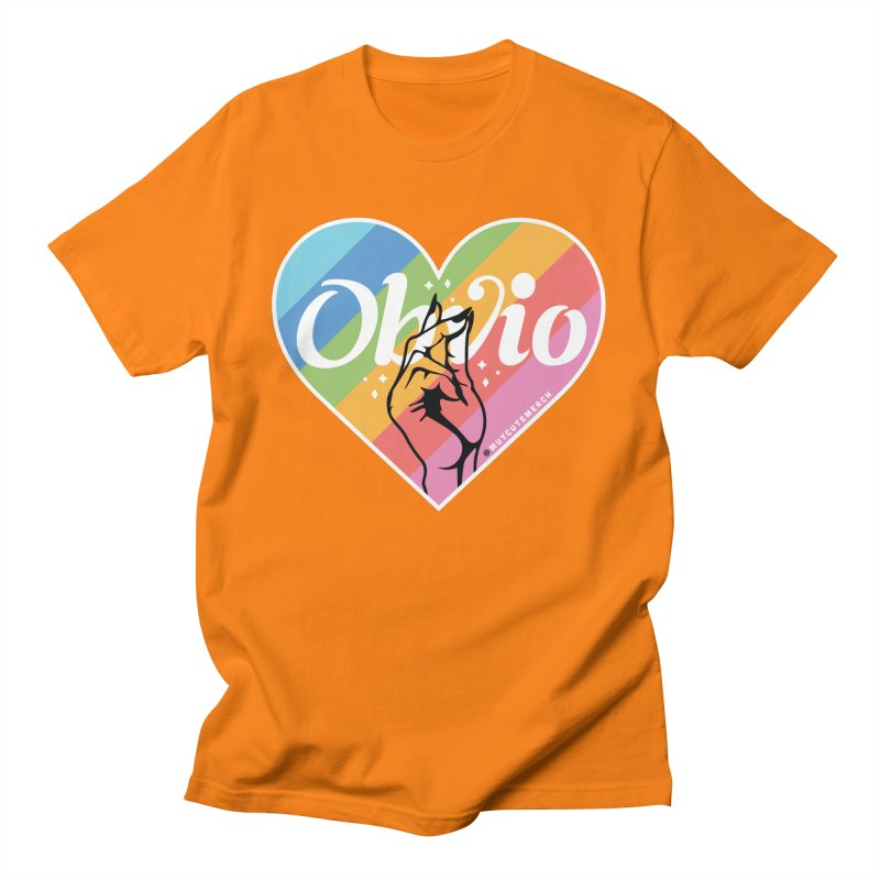 Obvio Pride Men's T-Shirt by Muy Cute Camisa Shop