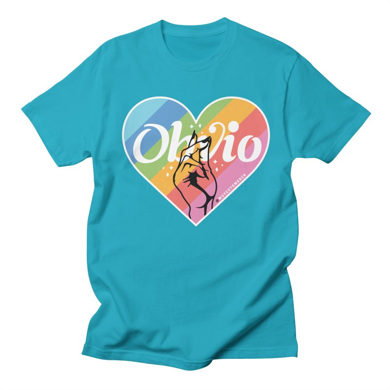 Obvio Pride Men's Regular T-Shirt by Muy Cute Shop