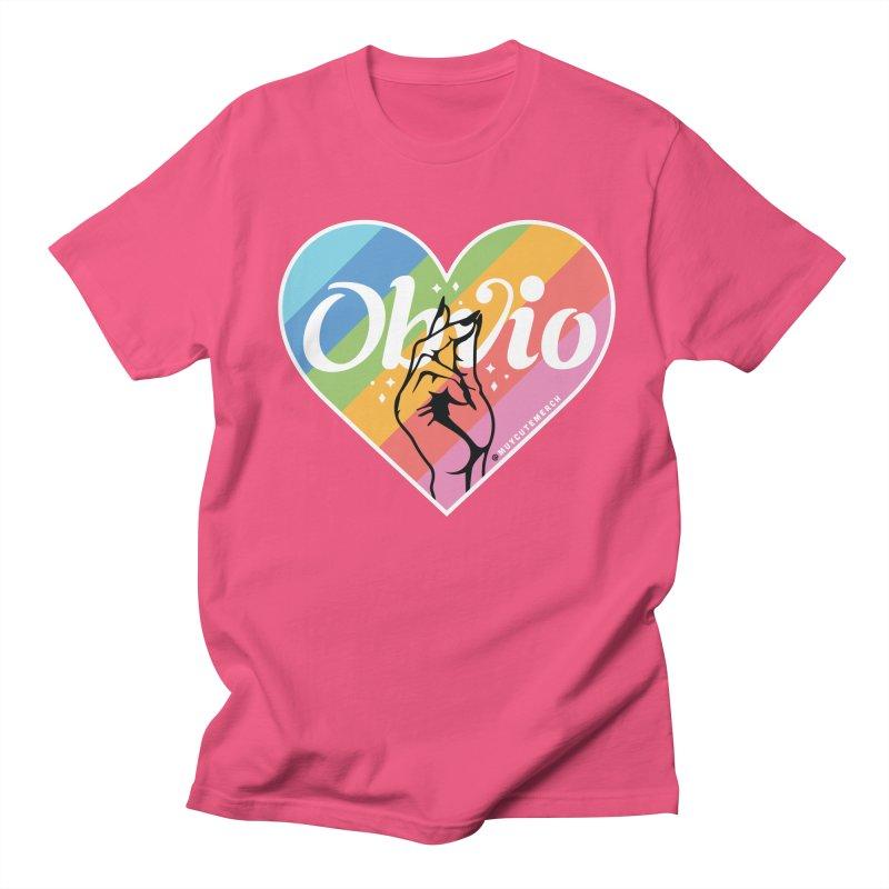 Obvio Pride Women's Regular Unisex T-Shirt by Muy Cute Shop