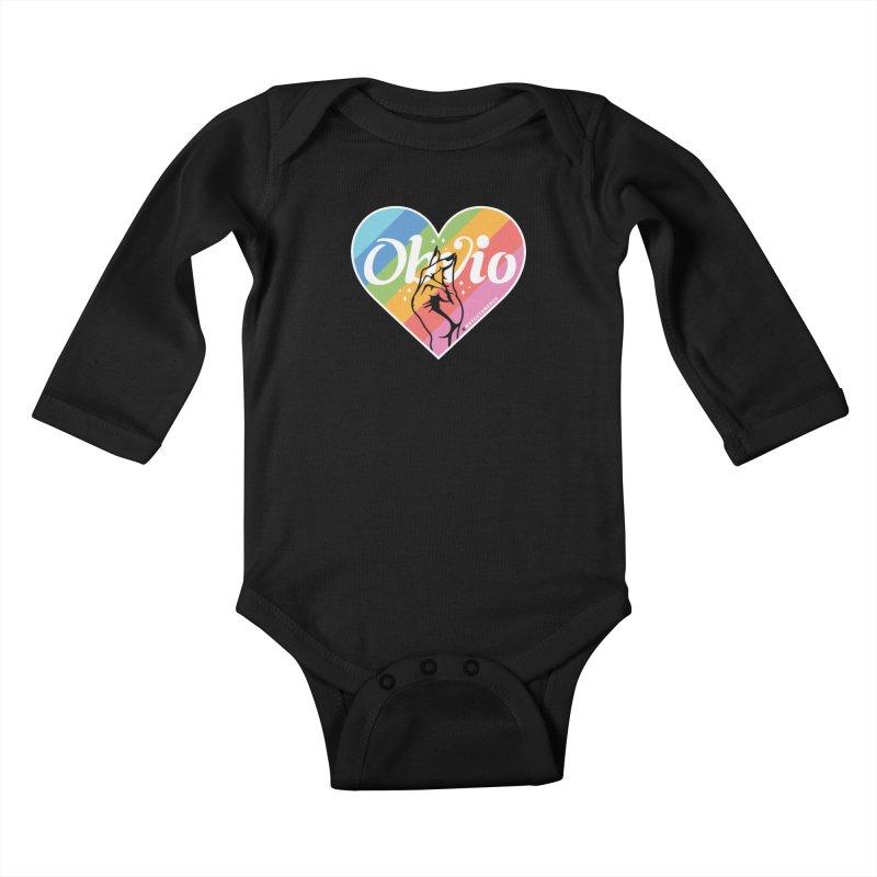 Obvio Pride Kids Baby Longsleeve Bodysuit by Muy Cute Camisa Shop