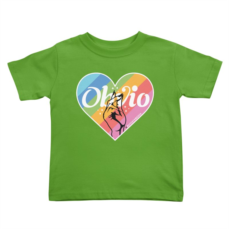 Obvio Pride Kids Toddler T-Shirt by Muy Cute Camisa Shop