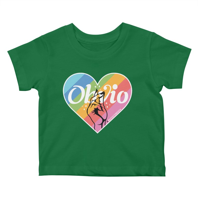 Obvio Pride Kids Baby T-Shirt by Muy Cute Camisa Shop