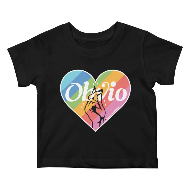 Obvio Pride Kids Baby T-Shirt by Muy Cute Shop