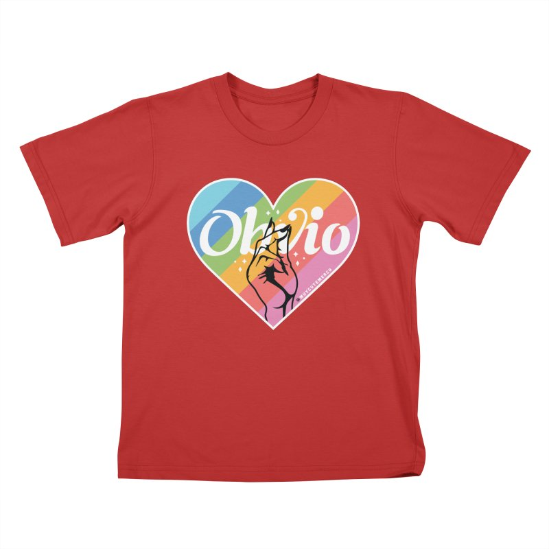 Obvio Pride Kids T-Shirt by Muy Cute Shop