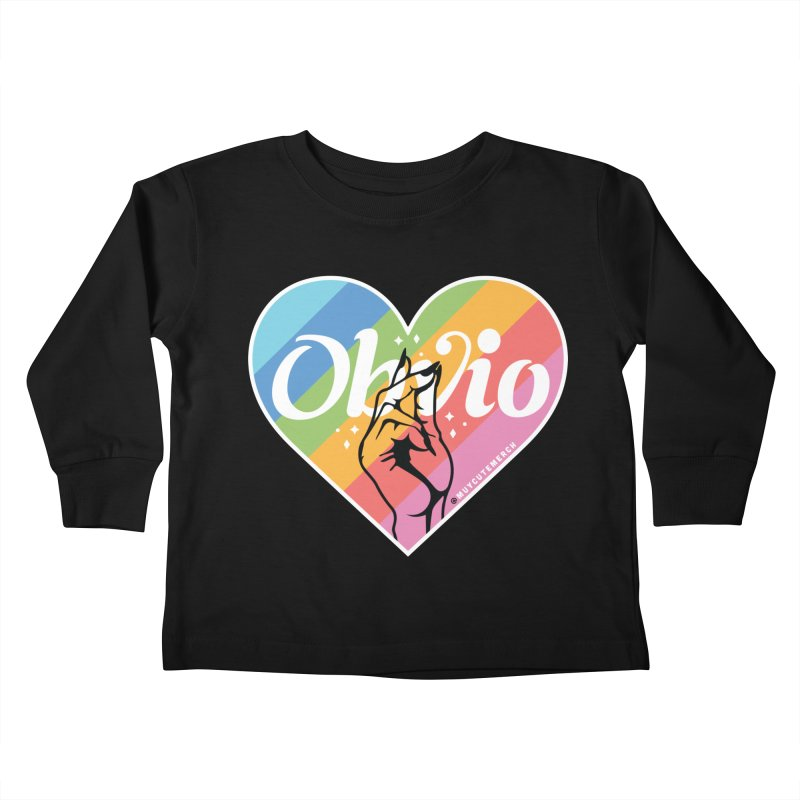 Obvio Pride Kids Toddler Longsleeve T-Shirt by Muy Cute Shop