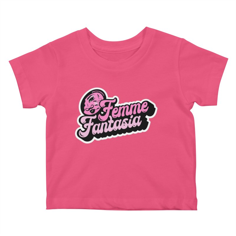 Femme Fantasia Kids Baby T-Shirt by Muy Cute Shop