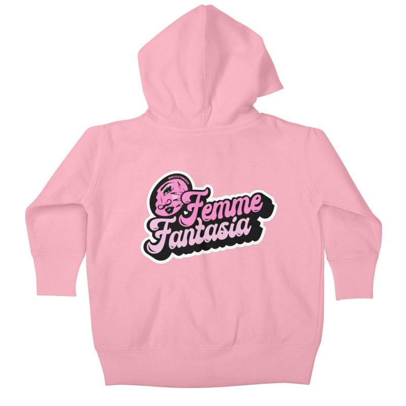 Femme Fantasia Kids Baby Zip-Up Hoody by Muy Cute Camisa Shop