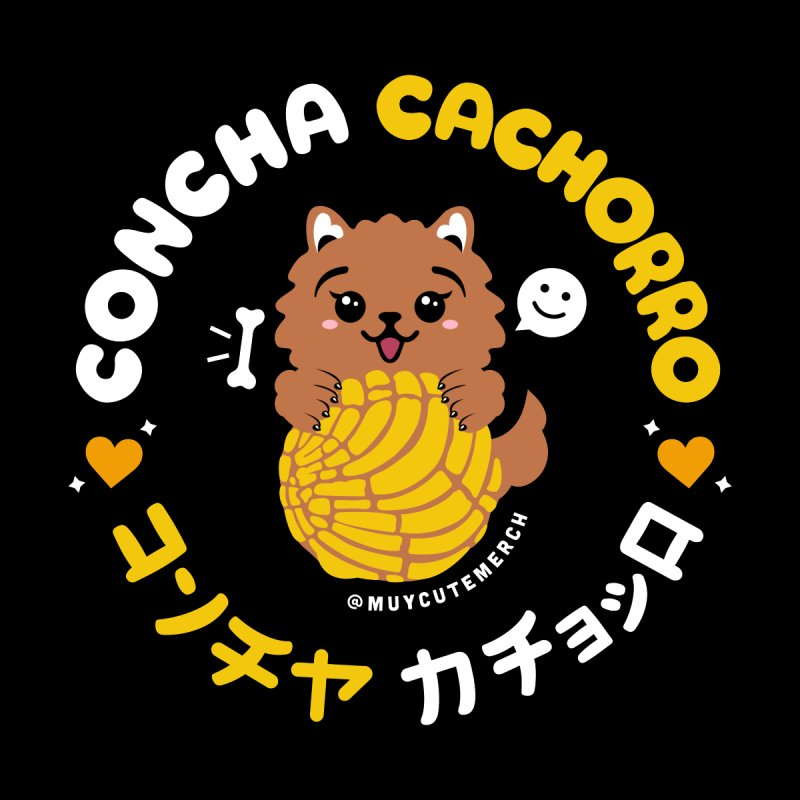 Concha Cachorro Men's T-Shirt by Muy Cute Camisa Shop