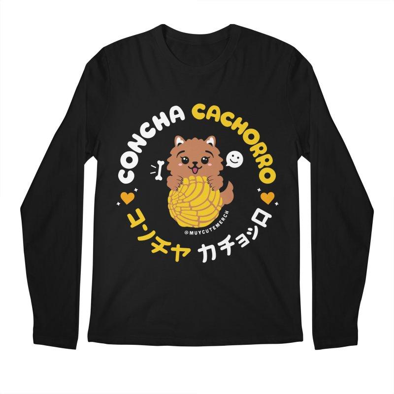 Concha Cachorro Men's Longsleeve T-Shirt by Muy Cute Camisa Shop