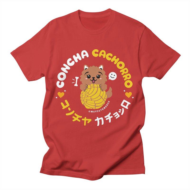 Concha Cachorro Men's T-Shirt by Muy Cute Camisa Shop