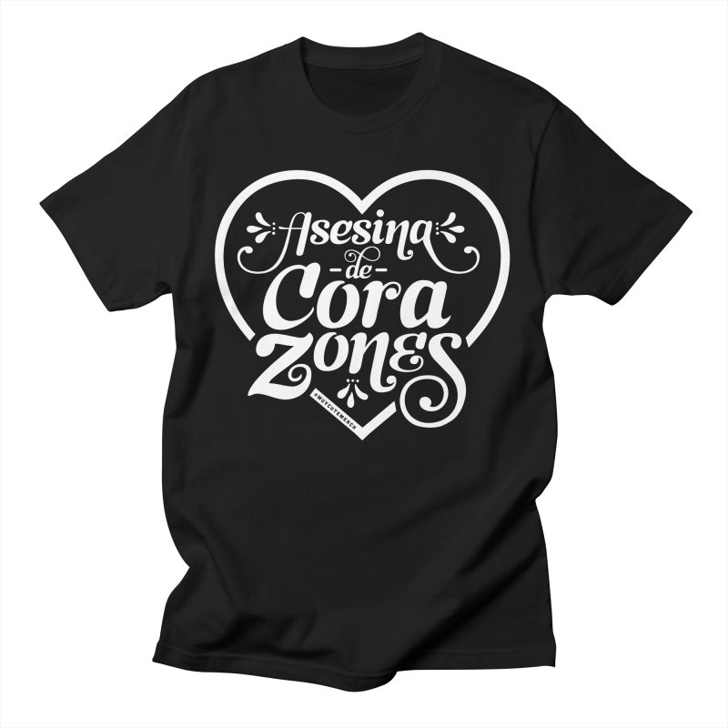 Asesina De Corazones (White Text) Women's T-Shirt by Muy Cute Camisa Shop