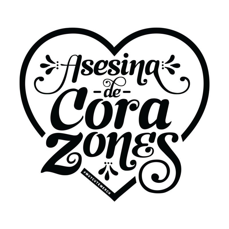 Asesina De Corazones (Black Graphic) by Muy Cute Shop
