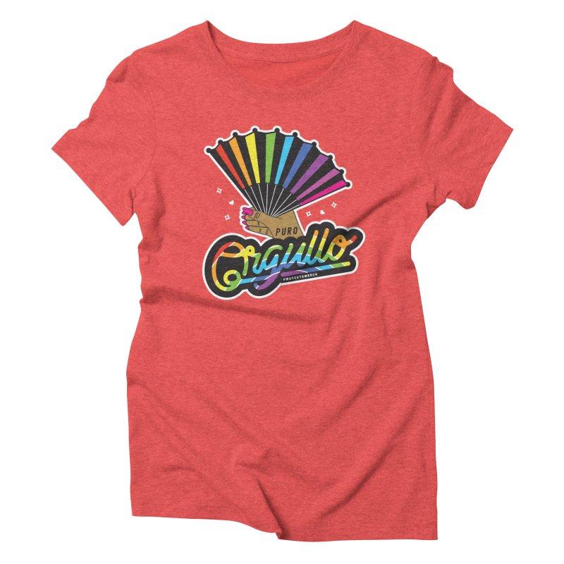 Puro Orgullo Women's Triblend T-Shirt by Muy Cute Shop